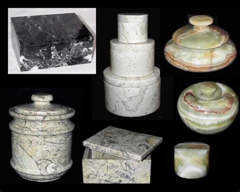 Marble Kitchen Jars Marble Boxes Trinket Boxes Marble Jars Canisters