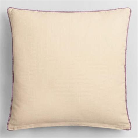 Orange And Purple Pillows by Orange And Purple Garden Embroidered Throw Pillow World