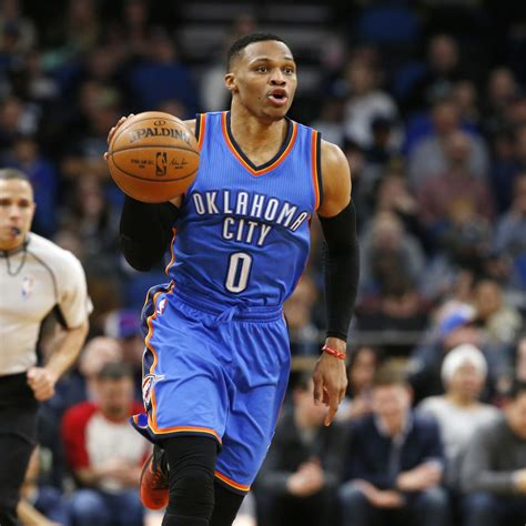 Kaos Russel Westbrook Logo Must 2 westbrook thunder agree to largest contract in nba history bleacher report
