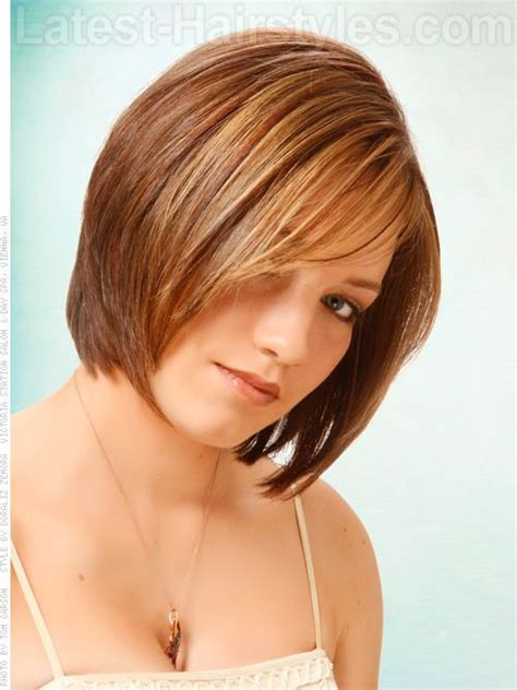 short hairstyles with weight line for women stack me not this a thick hair version of the popular a