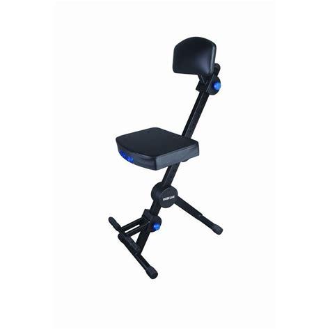 guitar stool with backrest quiklok adjustable musicians stool w adjustable footrest