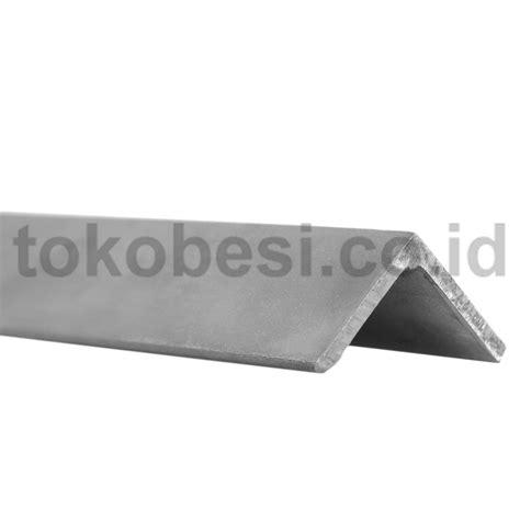 Siku L 50 X 50 Stainless Steel Siku Penyangga 1 toko besi siku stainless steel 304 50 x 50 x 5 x 6000 mm