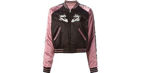 Jaket Bomber Wanita Pink Jaket Bomber Wanita Polos diesel g absol d bomber jacket in pink pink purple lyst