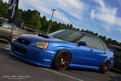subaru wrx custom blue 2004 subaru impreza wrx for sale wilkesboro north carolina