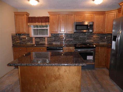 Granite Countertops With Light Cabinets by Prefab Granite Countertop Kitchen Normabudden