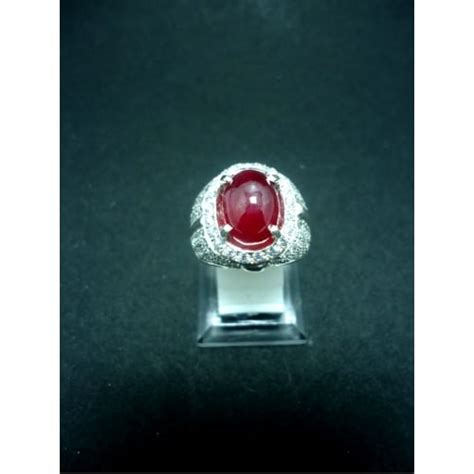 Senter Cincin cincin batu merah delima mistik center