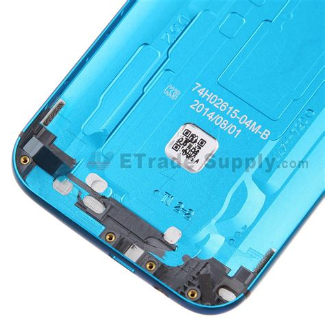 htc one m8 rear htc one m8 rear housing blue htc logo with words