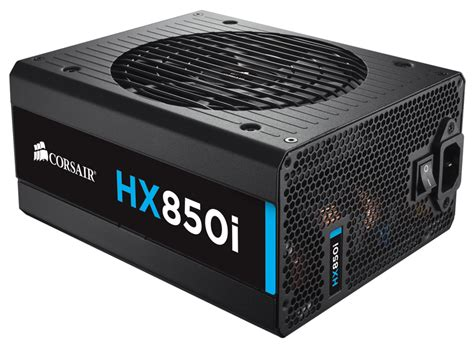 corsair hx850i 850 watt fully modular 80 platinum power supply cp 9020073 au centre