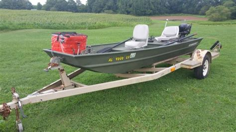 used flat bottom boat trailer for sale 14 foot 14 alumacraft fishing boat flat bottom with