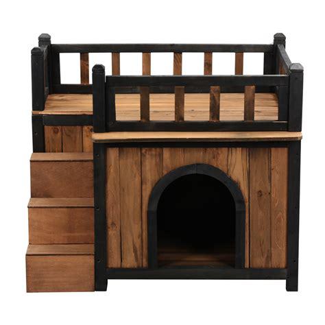 indoor dog house bed large dog house home shelter wooden bed cat pet den kennel