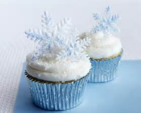 Frozen Themed Birthday Decorations - how to make sparkly snowflake cupcakes cakejournal com