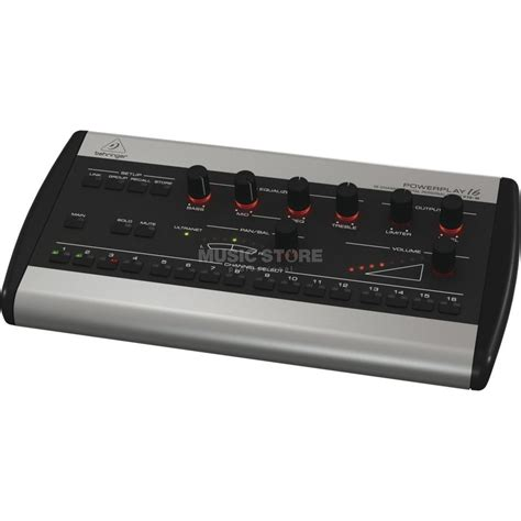 Daftar Mixer Behringer 16 Channel behringer p16 m powerplay 16 ch digital mixer monitor ebay