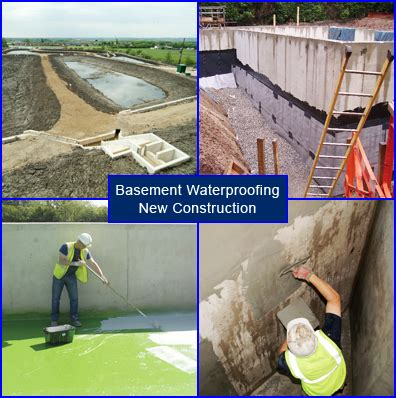 new construction basement waterproofing basement waterproofing in new construction and building projects