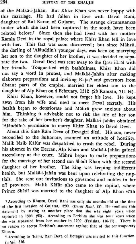 History of the Khaljis (A.D. 1290 -1320)