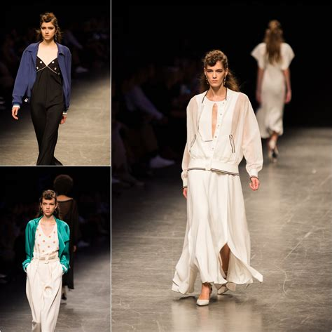 Mellan Fashion Maxi Polka Godwin milan fashion week ss17 escada cape anteprima show