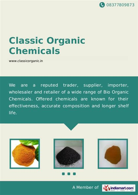 Organic Chemical Free Carefor by Classic Organic Chemicals