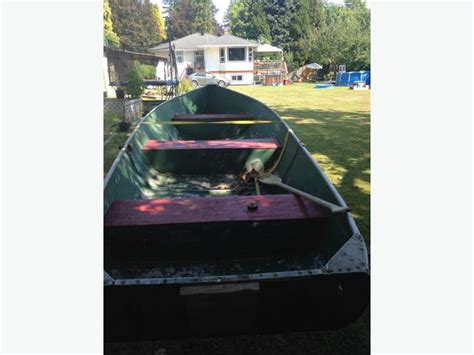boat trailers for sale comox valley 14 ft aluminum boat and trailer for sale outside comox
