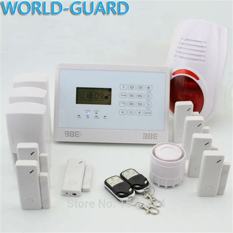 world guard wireless connected gsm pstn alarm system dual
