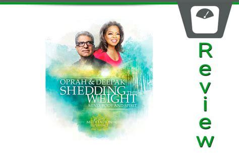 oprah deepak s shedding the weight 21 day meditation review