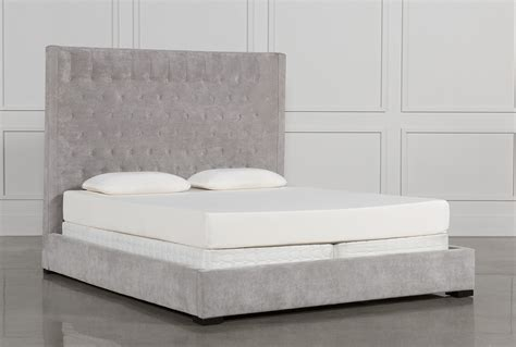 what is an eastern king bed madeline eastern king upholstered panel bed living spaces