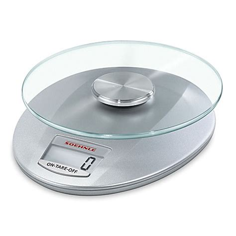 bed bath and beyond kitchen scale buy leifheit soehnle roma digital kitchen scale in silver