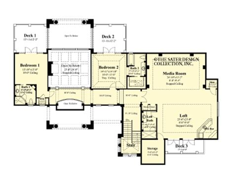 house plans designs direct the cordillera house plans second floor plan house plans by designs direct