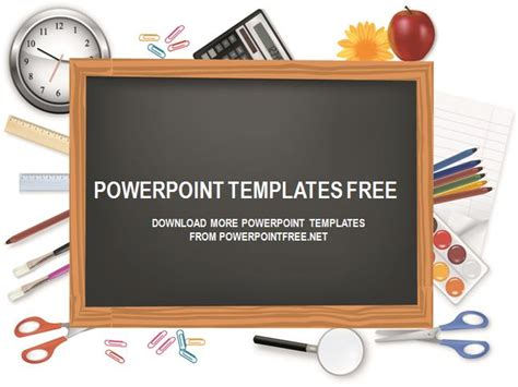 Chalkboard Powerpoint Template Free Download Chalkboard Powerpoint Template Free