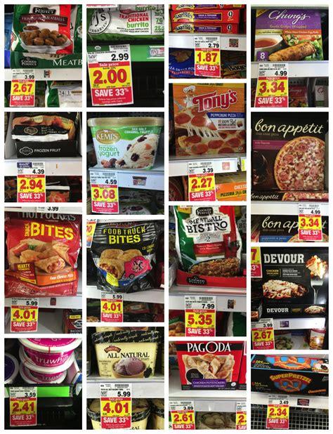 kroger food 33 participating frozen foods at kroger inclusions list kroger krazy