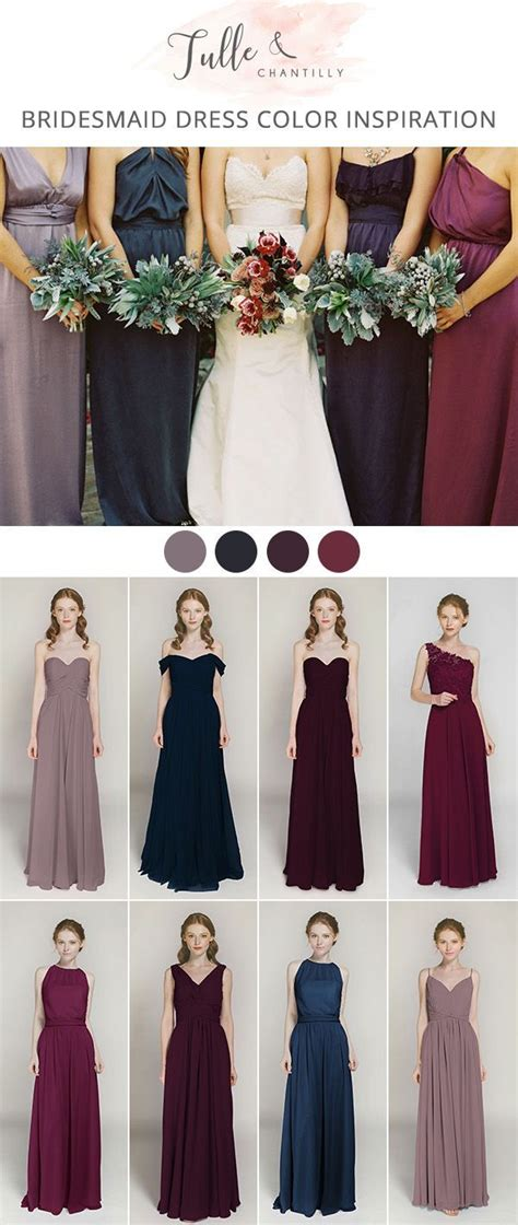 fall dress colors 571 best 2018 fall and winter wedding trends images on