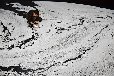 how is table salt made motoi yamamoto outlines complex labyrinths made of table
