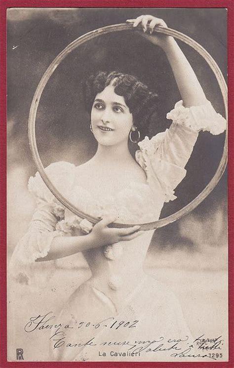 retro photos lina cavalieri by the lost gallery via flickr lina