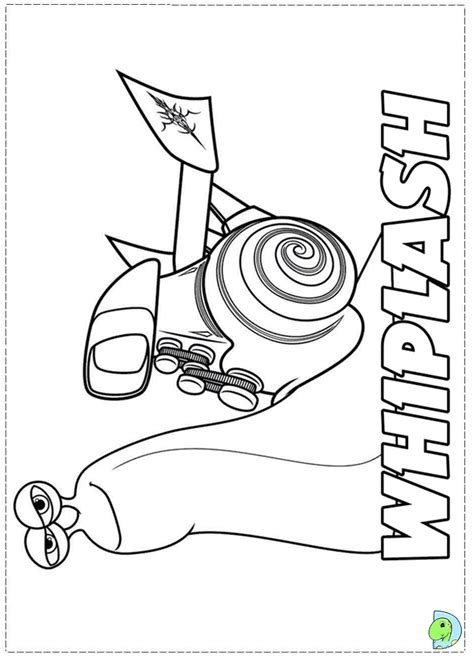 turbo colouring pages page 2