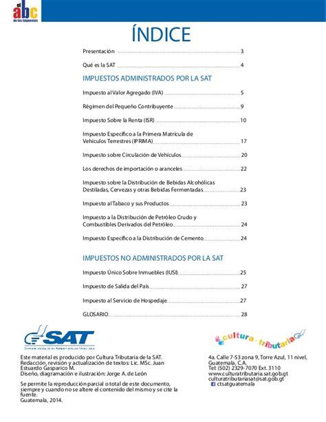 tabla de impuestos de cisrculacion 2016 sat de guatemala sat impuesto circulacion de vehiculos formulario sat