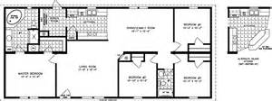 1600 Sq Ft Floor Plans by The Imperial Imp 46019b Manufactured Home Floor Plan