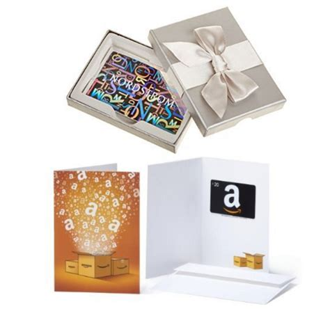 10 For 20 Amazon Gift Card - free 20 amazon gift card with purchase of a 100 nordstrom gift card today only
