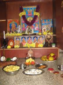 Ugadi Decorations At Home by Pooja Room Decoration 18 Jpg