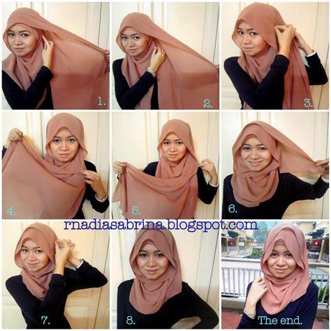 tutorial hijab pengantin nuri maulida 17 tutorial hijab pesta nuri maulida tren fashion