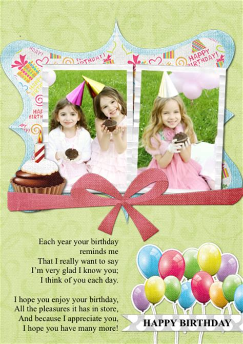 birthday card collage template photo collage templates and ideas picture collage maker
