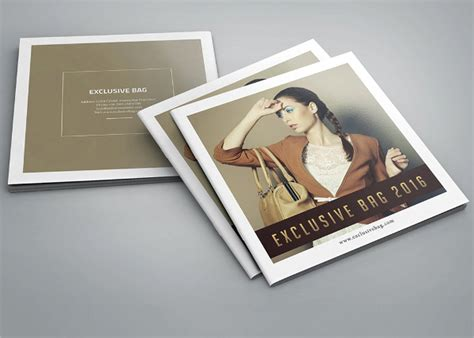 Fashion Brochure Template by 24 Square Brochure Free Psd Eps Ai Format