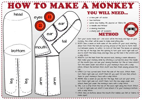 sock monkeys history and information to make your own