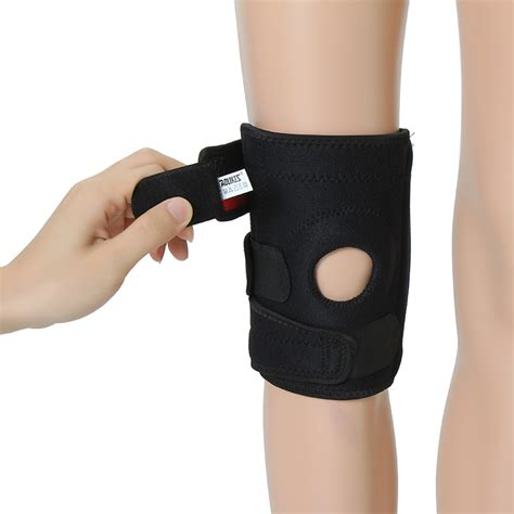 aolikes adjustable sports elastic knee support