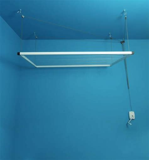 Sechoir A Linge Plafond by Etendoir Plafond Avec Treuil 224 Manivelle