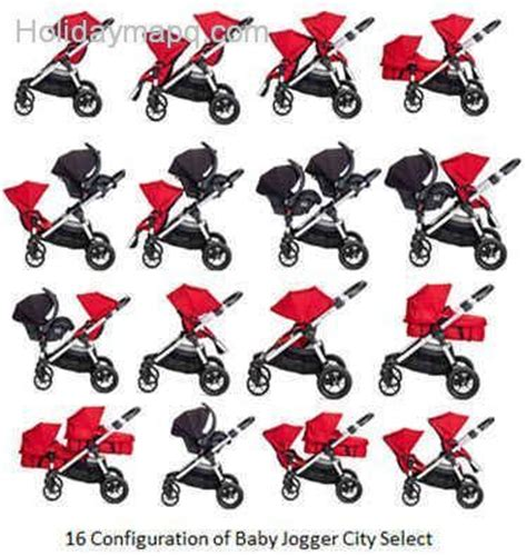 2017 Baby Jogger City Select Australia by City Select Stroller Map Q Holidaymapq