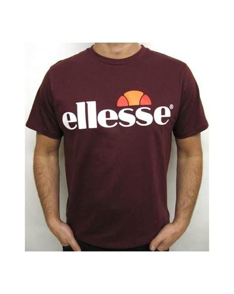 Tshirt Ellesse New One Tshirt ellesse logo t shirt burgundy ellesse mens logo