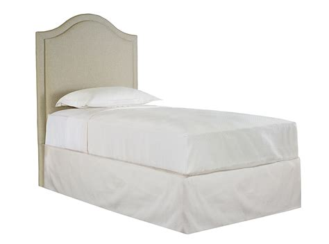 custom upholstered headboard bassett custom upholstered beds 1993 h39f twin vienna