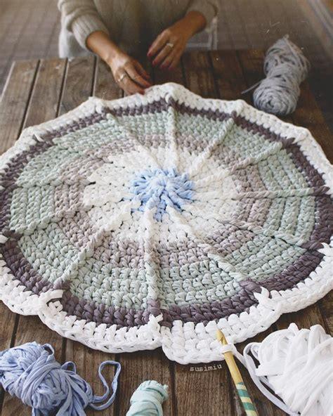 alfombra redonda de trapillo las 25 mejores ideas sobre mantas para beb 233 s en