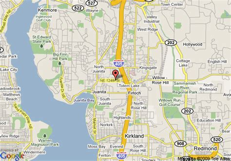 seattle map kirkland map of courtyard by marriott seattle kirkland kirkland