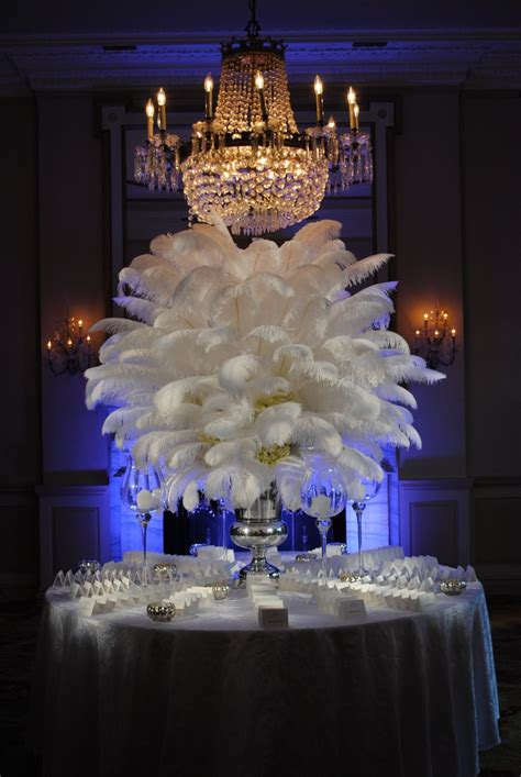 feather centerpieces best 25 ostrich feather centerpieces ideas on