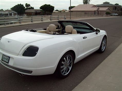 bentley sebring this bentley continental gt convertible is a chrysler