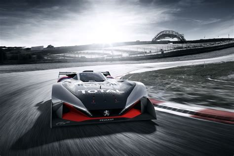 new peugeot automatic cars peugeot l 750 r hybrid vision gran turismo extreme and